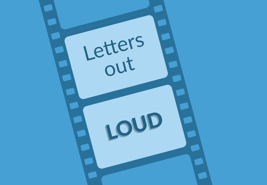 Letters Out Loud – Mom Left